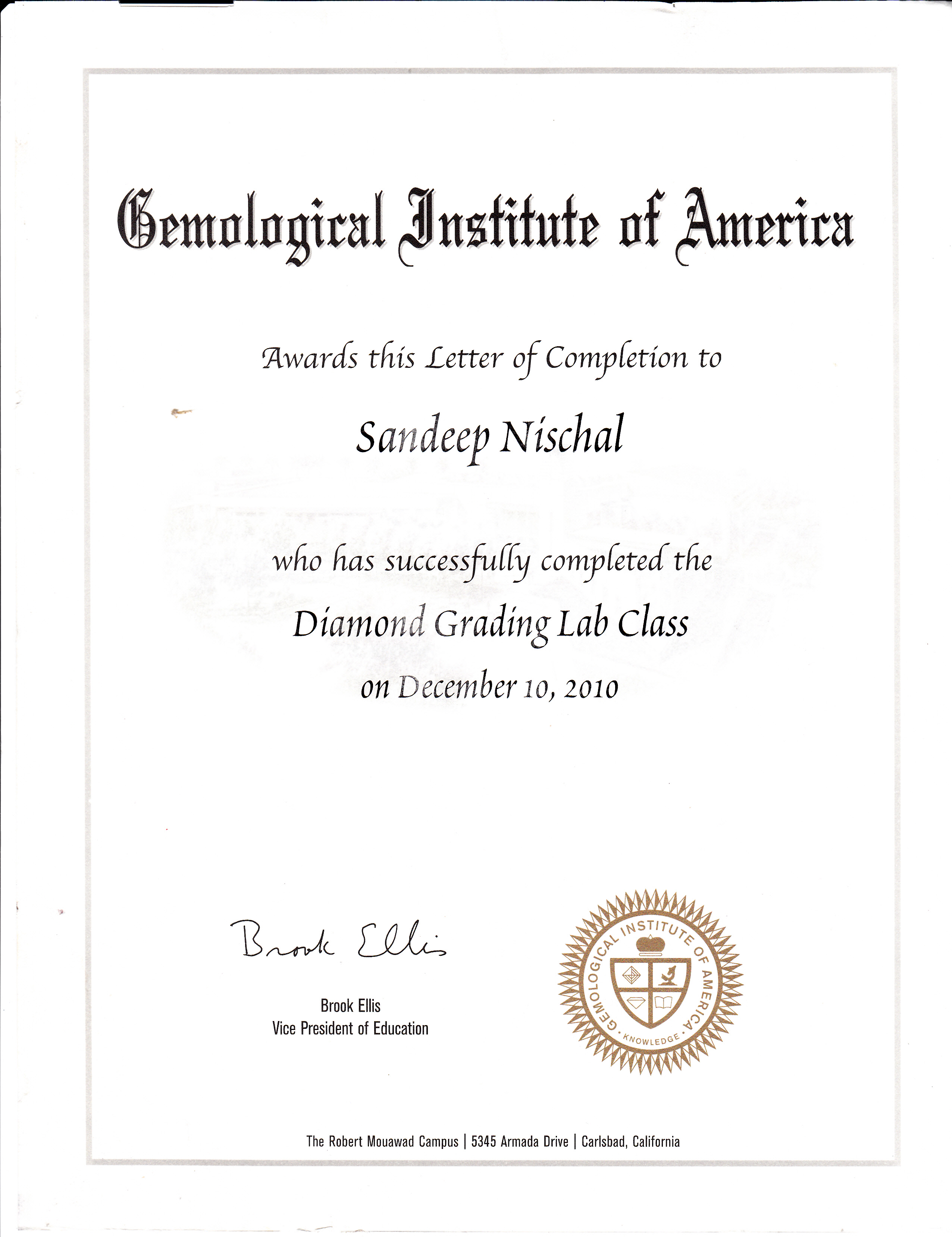 What is the Gemological Institute of America?